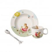 Villeroy & Boch Hungry as a Bear Ensemble de vaisselle pr enfants, 3 pcs