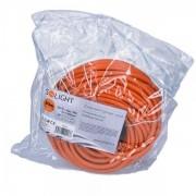 Solight prodlužovací kabel - spojka, 1 zásuvka, oranžová, 30m PS18