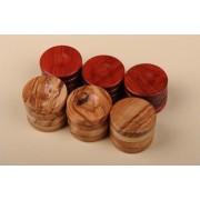Puluri joc table din lemn de maslin rosu d.37mm