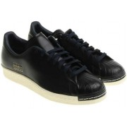 adidas Originals Black Superstar 80S Clean Sneakers Black