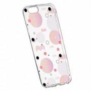 Husa Silicon Transparent Slim Circle 110 Apple iPhone 6 PLUS 6S PLUS