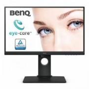 Монитор BenQ BL2480T, IPS, 23.8 inch, Wide, Full HD, D-sub, HDMI, DisplayPort, Черен, BENQ-MON-BL2480T