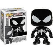 Funko Spider-Man POP! Marvel Black Suit Spider-Man Exclusive Vinyl Bobble Head #79