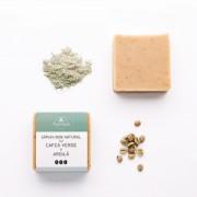 Sapun natural cu Cafea Verde si Argila Trio Verde 110gr