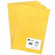 dpCraft Filc polyesterový - žltý A4, (DPFC-004)
