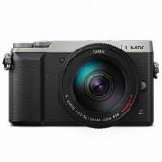 Panasonic Lumix DMC-GX80 kamerahus silver + G Vario 14-140/3,5-5,6 O.I.S