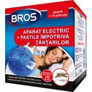 Aparat electric BROS impotriva tantarilor cu vaporizator + 10 pastile