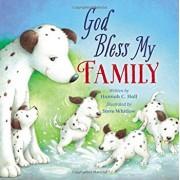 God Bless My Family, Hardcover/Hannah Hall