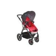 Carrinho De Bebê Travel System Kiddo Galaxy - Preto/vermelho