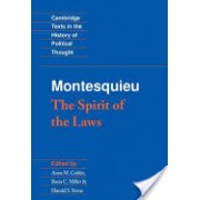 Montesquieu - The Spirit of the Laws (Montesquieu Charles de SecondatBaron de)(Paperback) (9780521369749)