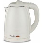 Preethi Snow White EK 709 Electric Kettle(1.2 L, White)