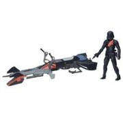 Jucarie Star Wars The Force Awakens 3.75-Inch Vehicle Elite Speeder Bike