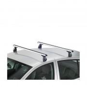 Bare transversale Cruz - DACIA Duster 5 usi 2014-, cu bare longitudinale pline, cu bare Oplus AX din aluminiu