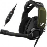 Casti Gaming Sennheiser GSP 550, Microfon (Negru/Verde)