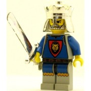 LEGO Castle Minifig Knights Kingdom I King Leo