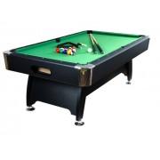 Biliardový stôl pool biliard 8 ft - s vybavením