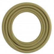 Calex kabel textiel 2x0,75mm2 3M goud