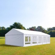 TOOLPORT Marquee 5x10m PVC 500 g/m² white waterproof