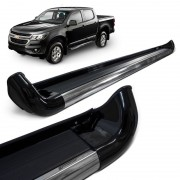 Estribo Lateral S10 2012 a 2021 Preto Carbon Personal