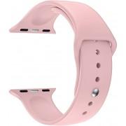 Wotchi Silikonový řemínek pro Apple Watch - Růžový 42/44 mm - S/M