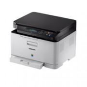 Мултифункционално лазерно устройство Samsung Xpress SL-C480, цветен принтер/копир/скенер, 2400 x 600 dpi, 18 стр./мин, USB, A4