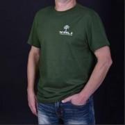 Тениска VALI COMPUTERS Unisex, размер S, Зелена