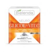 Bielenda NEURO GLICOL + C-vitamin Hidratáló bőrragyogást és fiatalítást aktiváló krém, nappali SPF20 50ml