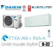Daikin Stylish modèle FTXA50AW - R-32 - WIFI inclus