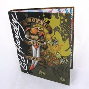 Ed Hardy gyűrűs mappa - Death Before Dishonor