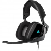 HEADPHONES, Corsair VOID RGB ELITE Premium, Gaming, Dolby 7.1, Microphone, Carbon (CA-9011203-EU)