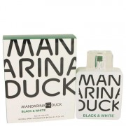 Mandarina Duck Black & White Eau De Toilette Spray 3.4 oz / 100.55 mL Men's Fragrances 535321