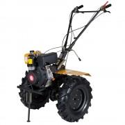 Motosapa diesel (motocultor) ProGARDEN HS1100A, 7CP, 120CM, roti, lame, discuri