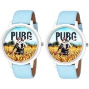 2019 New P U B G Dial Unique Collection Combo Pack Of 2 Men'sBoy's Watches