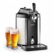Klarstein Skal, sörcsap, sör hűtése, 5 literes hordó, CO2, nemesacél (TK49-Skal)
