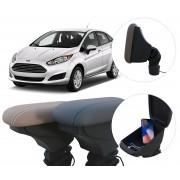 Apoio de Braço Ford New Fiesta com USB coifa e porta-objetos