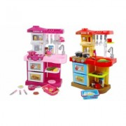 Light and Sound Kitchen Play Set: Red
