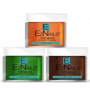 EzNails - Acryl - Traditional Colored Powders - Milk Chocolate - 28 gr