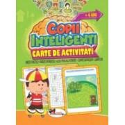 Jocuri pentru copii inteligenti +4 ani. Carte de activitati