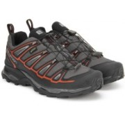 Salomon X Ultra 2 GTX Hiking & Trekking Shoes For Men(Black, Grey)