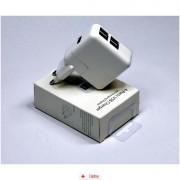 Incarcator Universal USB 4 porturi + Cablu Universal incarcare Telefoane, Cablu OEM USB - microUSB Happy