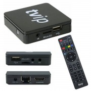 TVIP S-Box v.415 - IPTV HD Box Android o Linux Med WiFi 2,4/5 GHz