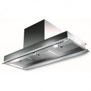 Campana Mepamsa SECRET 120 Inox 120 CM 540m3/h LED