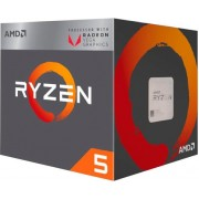 Procesor AMD Ryzen 5 2400G BOX, s. AM4, 3.9GHz, 6MB cache, Quad Core, RX Vega, Wraith Stealth cooler