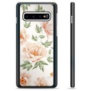 Samsung Galaxy S10 Beschermende Cover - Bloemen