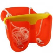 Детска люлка MASTER Baby, пластмасова, оранжева, MAS-B131-orange