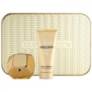 Paco Rabanne Lady Million coffret I. Eau de Parfum 80 ml + leite corporal 100 ml