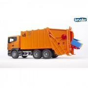 Bruder camion trasporta rifiuti scania r-serires 3560