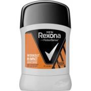 Deodorant Stick REXONA Workout Hi-Impact 50 ml Pentru Barbati Protectie 48h Deodorant Solid Deodorante Solide Deodorant Solid Barbatii
