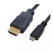 Кабел Digital One SP00073, от USB Micro B(м) към HDMI(м), 1.5m, черен
