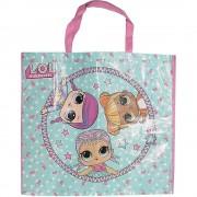 LOL Surprise L.O.L. överraskning stora återanvändbara Shopper väska